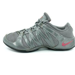 Nike Musique Gray Athletic Cheer Shoes Women's 6
